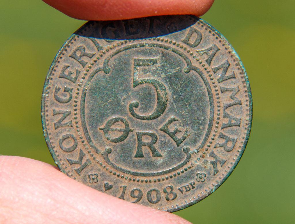 5 øre 1908