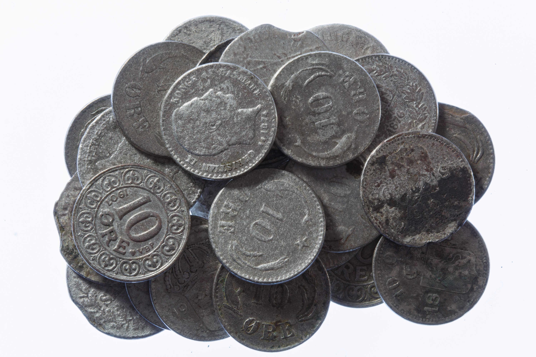 Små sølvmønter