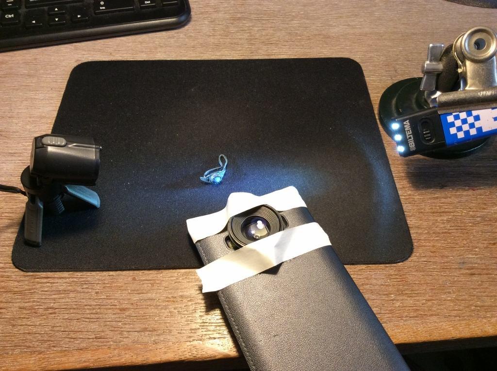 billede 2 - telefon med linse