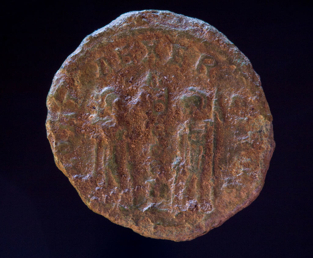 Romersk bronzemønt, Constans som Cæcar, 335-337